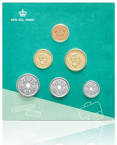 Denmark's Coin Set for Children 2017.