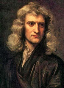 Portrait of Newton at 46 in 1689 by Godfrey Kneller.