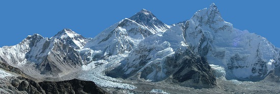 Mount Everest. Photo: Fabien1309 / Wikipedia