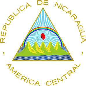 The coat of arms of Nicaragua. Source: C records.