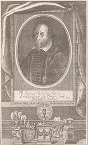 Philipp Christoph von Soetern, engraving about 1650. Source: Wikipedia.