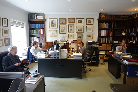 The office of Sovereign Rarities. Photo: UK.