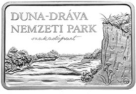 Hungary - 5000 HUF - 925 silver - 31.46 g - 39.6×26.4 mm - The Duna-Drava National Park -3,000 (BU) and 5,000 (proof) - G. Kereszthury.