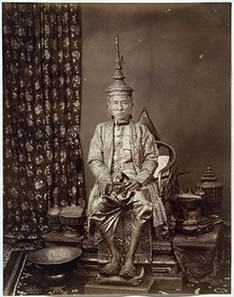 Photography of Mongkut after being crowned as Rama IV. Source: Wikipedia.