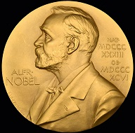 Lot 77 of upcoming Morten & Eden Auction: De Hevesy's gold Nobel prize medal.