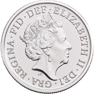 Great Britain / 6 Pence / Silver .925 / 3.35g / 19.41mm / Design: Jody Clark (obverse) and John Bergdahl (reverse) / Mintage: Unlimited.
