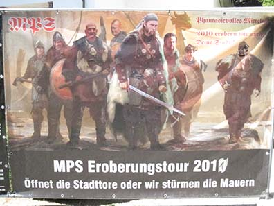 The poster of MPS. Photo: KW.
