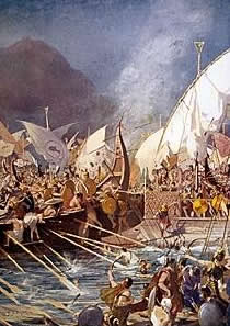 Ships from Ainos fought on the Persian side in the battle of Salamis.