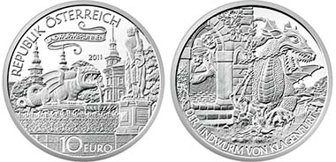 Austria. 10 Euro - 925 AR - 32 mm - 17,3 g - Austrian Mint - Design: Th. Pesendorfer / H. Andexlinger - special uncirculated: 30.000 - proof: 40.000.