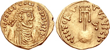 Constans II (641-668). Semissis, Syracuse. From CNG, Triton sale 13 (2010), 1666.