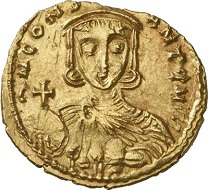 Leo III (717-741). Solidus, Syracuse. From Gorny & Mosch sale 170 (2008), 3075.