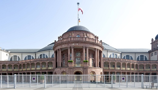 "Numismata: the ""Festhalle"", venue of the NUMISMATA Frankfurt, held annually in November."