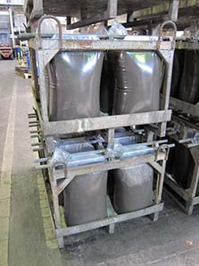 This is how you can process further the precious metal bearing powder. Photo: UK.