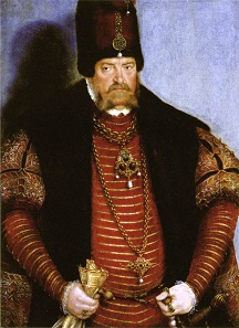 Joachim II Hector. Painting by Lucas Cranach the Elder around 1550.