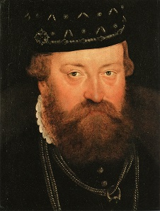 Johann Georg. Painting by Lucas Cranach the Younger from 1564.