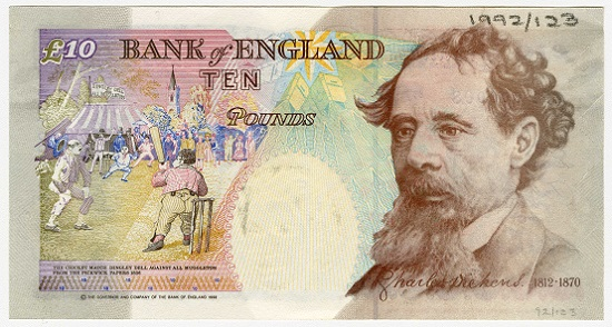 The 10 Note Which Featured Charles Ens In Circulation From 1992 2003