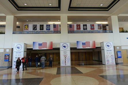 The entrance of the FUN Convention. Photo: UK.