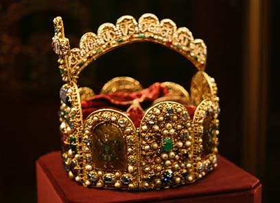 Fig. 2: Crown of the Holy Roman Empire.