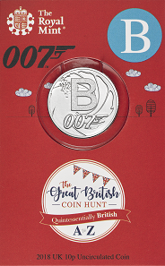The 10p will be available also as collectors coins in blisters.