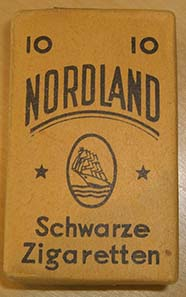 Cigarette box dating from the end of World War II, used as money. Private Collection. Photo: Ursula Kampmann.