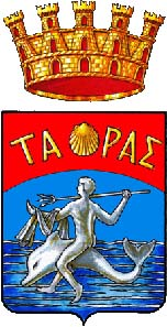 Coat of arms of Tarentum. Source: Wikipedia.