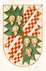 Coat of arms of the Malatesta family. Source: LessayCatus / Wikipedia.