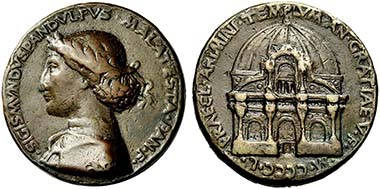 Sigismondo Malatesta. Medal by Matteo de' Pasti. From auction Numismatica Ars Classica 53 (2009), 519.