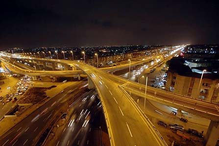 Nagan Interchange at North Nazimabad, Karachi. Source: Wikipedia/ Suleman Sajjad.