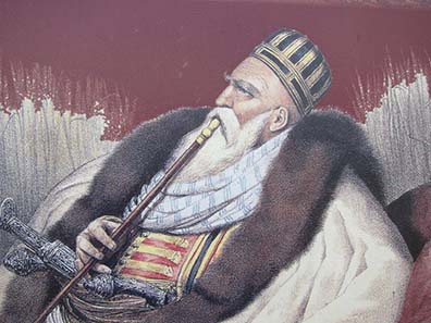 Ali Pasha, Lion of Yannina. Photograph: KW.