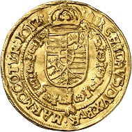 Matthias as Emperor. Ducat 1612, Vienna. From Künker auction 316 (January 31, 2019), No. 618. Price: 2,000 euros.