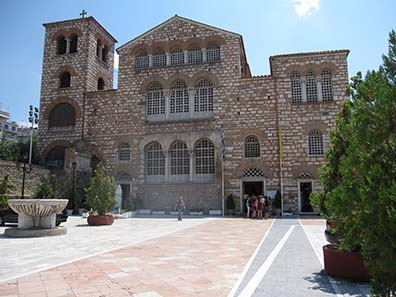 Church of St. Demetrios. Photograph: KW.
