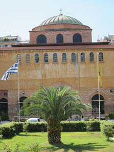Hagia Sophia of Thessaloniki. Photograph: KW.