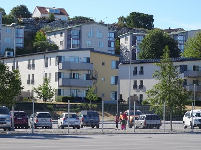 A view of the Scandic Hotel of Visby. Photo: KW.