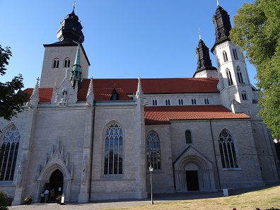 Saint Mary's Cathedral in Visby. Photo: KW.