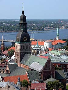 The Riga Cathedral. Photo: Brunswyk / Wikipedia.
