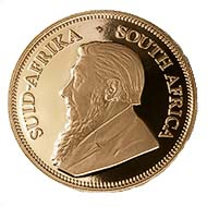 Pic. 2: Krugerrand 2007 - That year the Krugerrand 's 40th anniversary was celebrated.  Pic. Original diameter 3.25 mm