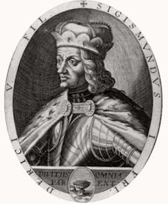 Archduke Sigismund of Tyrol, copperplate print 1623.