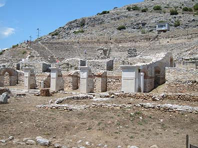 The Theater of Philippi. Photograph: KW.