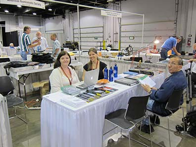 The table of the ANS, the American Numismatic Society. Photograph: UK.