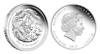 Australia - Various mintage specifications available as follows: 1 AUD - 1oz 999 silver - 31.14 g - 45.60 mm - Mintage: 5,000 // 30 AUD - 1 kg 999 silver - 1003.00 g - 100.60 mm - Mintage: 500 // Three-Coin set composed by a 2 oz, 1 oz 1/2 oz coin: Mintage: 1,000 // 2 AUD - 2oz 999 silver - 62.27 g - 55.60 mm // 0.5 AUD - 1/2oz 999 silver - 15.57 g - 36.60 mm.