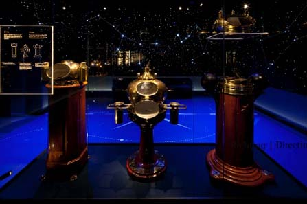 Het Scheepvaartmuseum, Amsterdam. Object Galleries, Navigational Instruments. Photo: Michael Jungblut.