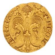 Fiorino d'oro, Florence, 1341, gold © Swiss National Museum.