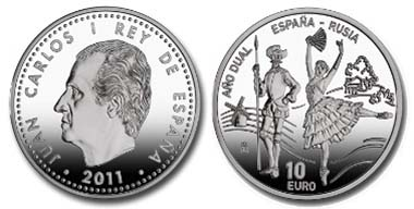 Spain - 10 EUR - 925 silver - 27.00 g - 40.00 mm - Mintage: 7,500.