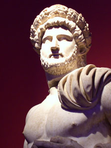 Statue of Hadrian. Photo: UK.