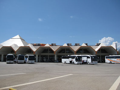 Antalya's bus terminal. Photo: KW.
