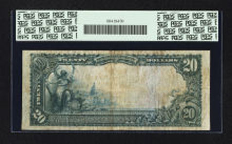 18203: Reno, NV - $20 1902 Red Seal Fr. 641 The Nixon NB Ch. # (P)8424. Realized: $66,125.