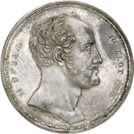 1621: RUSSIA. Nicholas I (1825-1855). 1 1/2 Rouble (10 Zlotych,