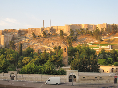 The fortress of Urfa. Photo: KW.