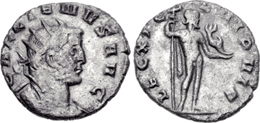 Gallienus. Antoninianus, Milan, 260/2. Rv. LEG XI C L VI P VI F Neptunus. From CNG auction 87 (2011), 1121.