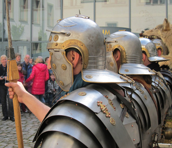 Legionaries. Photo: UK.